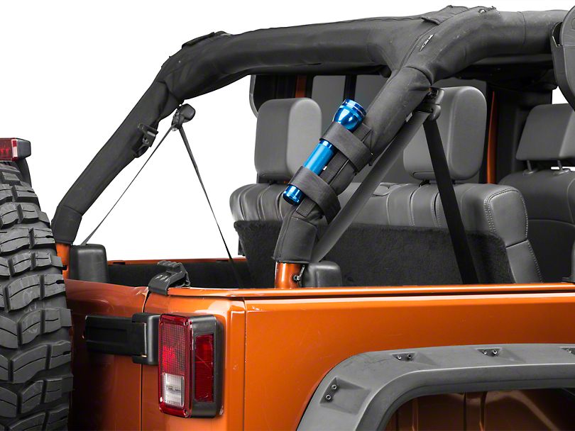 RedRock 4x4 Roll Bar Flashlight Mount (07-18 Jeep Wrangler JK)