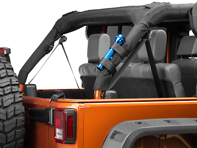 RedRock 4x4 Roll Bar Flashlight Mount (07-18 Wrangler JK)