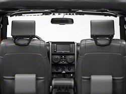 RedRock 4x4 Rear Seat Grab Handles - Pair (07-18 Jeep Wrangler JK 4 Door; 18-19 Jeep Wrangler JL 4 Door)