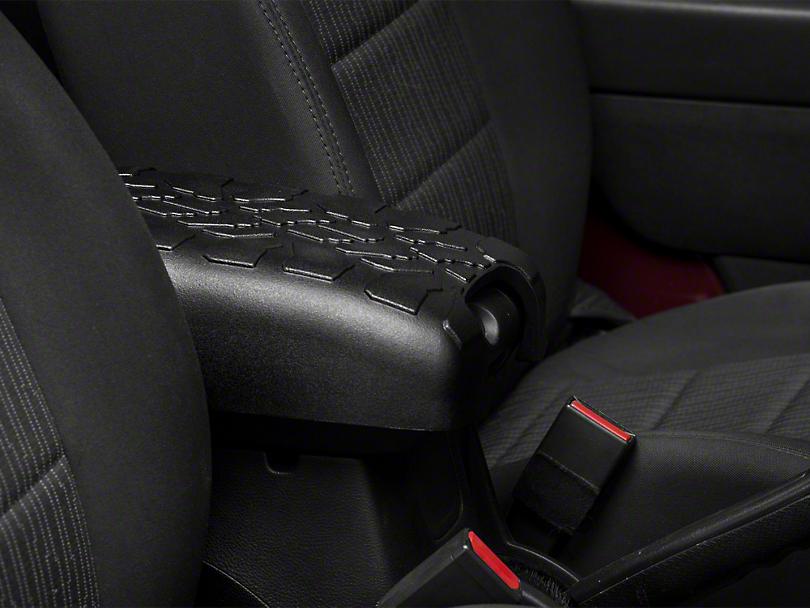 RedRock 4x4 Treaded Console Cover - Black (07-18 Jeep Wrangler JK)