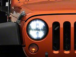 Axial LED Headlights w/ High & Low Beam (97-18 Jeep Wrangler TJ & JK)