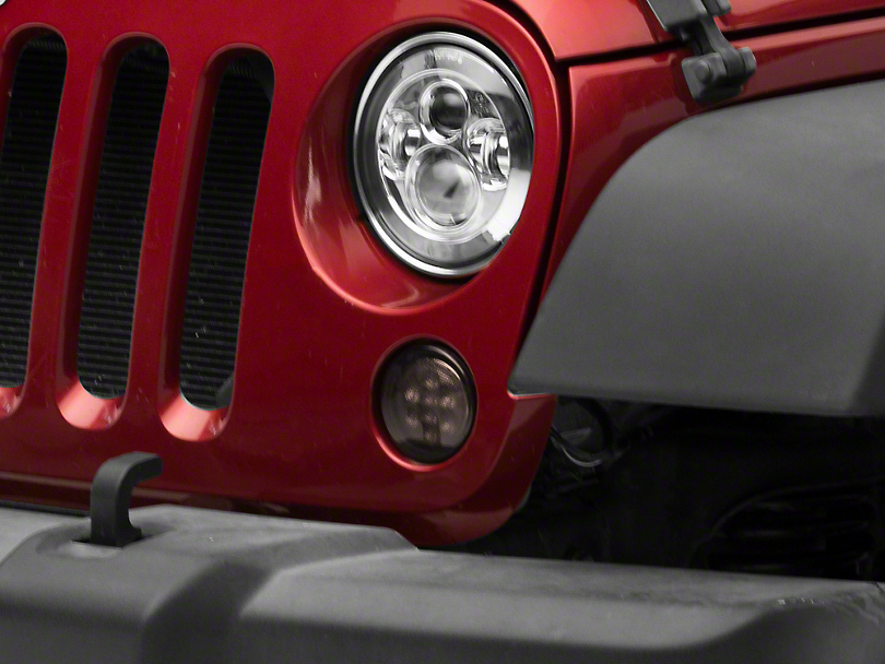 Axial Smoked LED Amber Turn Signals (07-18 Jeep Wrangler JK)