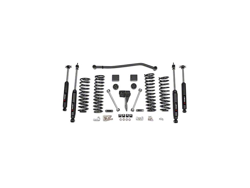 RBP 4-Inch Suspension Lift Kit with Shocks (07-18 Jeep Wrangler JK 2 Door)