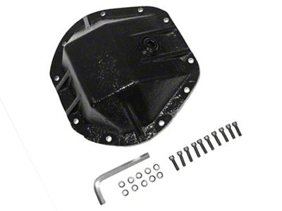 Alloy USA HD Dana 44 Differential Cover - 3/8 in. Cast Steel (87-18 Jeep Wrangler YJ, TJ & JK)