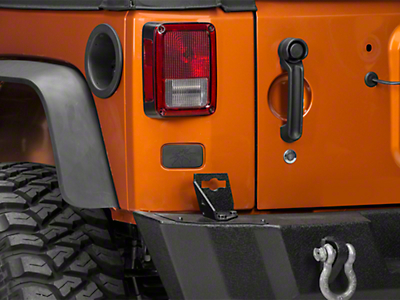 Poison Spyder Rear License Plate Delete Cover (07-18 Wrangler JK)