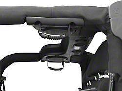Poison Spyder Rear Bolt-In Grab Handles; Black (07-18 Jeep Wrangler JK 4 Door)