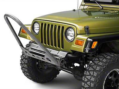 Poison Spyder Competition Stinger - Bare Steel (97-06 Jeep Wrangler TJ)