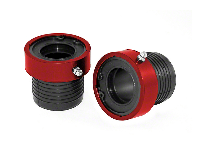 Alloy USA Performance Axle Tube Seal; Red (87-06 Jeep Wrangler YJ & TJ)