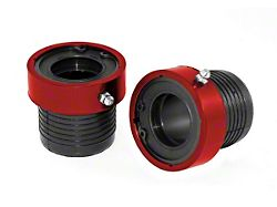 Alloy USA Performance Axle Tube Seal - Red (87-06 Jeep Wrangler YJ & TJ)