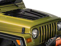 Poison Spyder Hood Louver - Black (03-06 Jeep Wrangler TJ)
