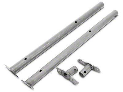 Poison Spyder Heavy Duty Header Bar Kit (97-06 Wrangler TJ)