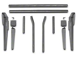 Poison Spyder Trail Cage Kit for Factory Roll Bars (87-95 Jeep Wrangler YJ)