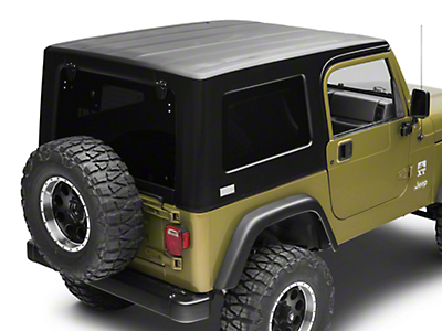American Fastback Recon Solid Hard Top - Textured Black (97-06 Jeep Wrangler TJ, Excluding Unlimited)