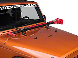 Rugged Ridge Off-Road Jack Mounting Bracket (07-18 Jeep Wrangler JK)