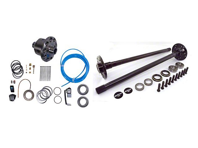 Alloy USA Precision Gear Grande Kit - Chromoly 33 Spline - Dana 44 (97-06 Jeep Wrangler TJ)
