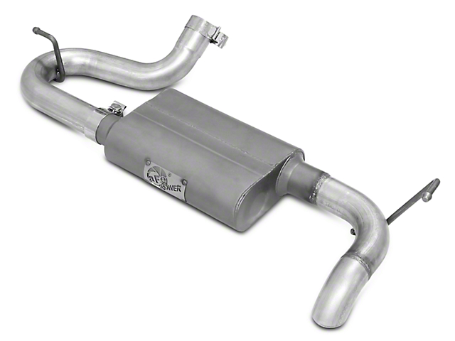 AFE Scorpion Hi-Tuck 2.5 in. Axle-Back Exhaust (07-18 Jeep Wrangler JK)