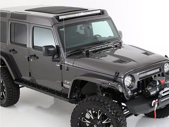 American Fastback Pathfinder Adventure Hard Top - Textured Black (07-18 Jeep Wrangler JK 4 Door)