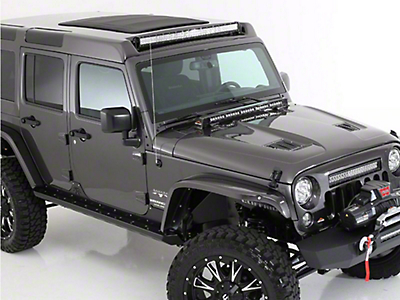 American Fastback Pathfinder Adventure Hard Top - Textured Black (07-18 Wrangler JK 4 Door)