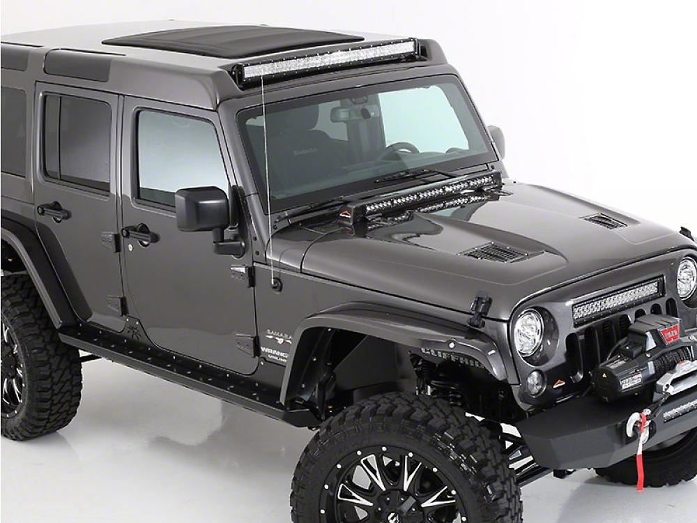 American Fastback Pathfinder Adventure Hard Top - Textured Black (07-18 Jeep Wrangler JK 4 Door)