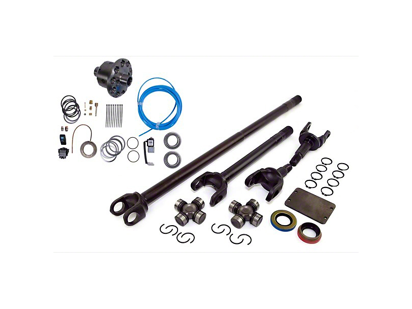 Alloy USA Precision Gear Grande 30/30 Kit w/ ARB Air Locker - Dana 30 - 3.73 & Up (87-95 Jeep Wrangler YJ)
