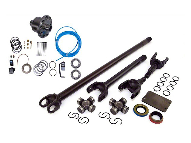 Alloy USA Precision Gear Grande 30/30 Kit w/ ARB Air Locker; Dana 30; 3.73 & Up (87-95 Jeep Wrangler YJ)
