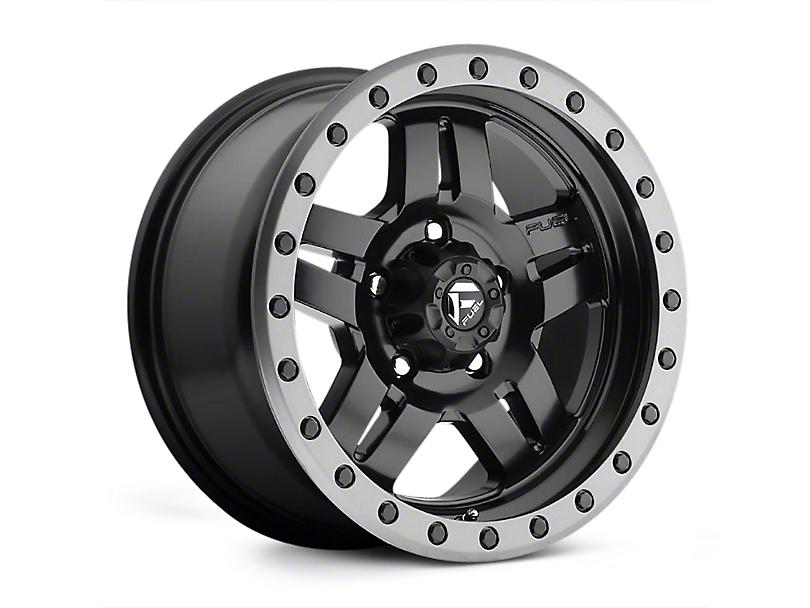 Fuel Wheels ANZA Matte Black Wheels (07-18 Wrangler JK)