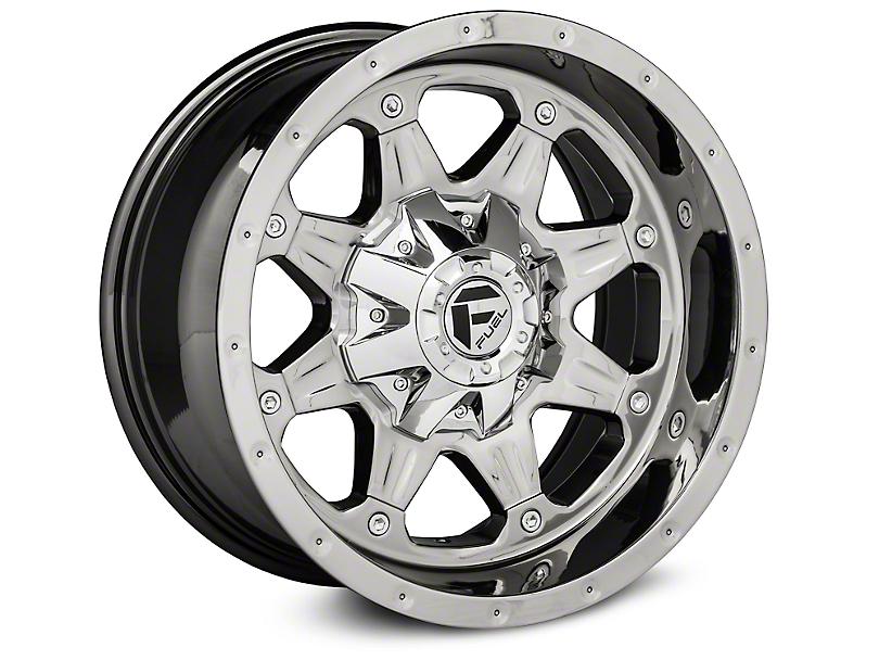 Fuel Wheels Boost Chrome Wheels (07-18 Wrangler JK; 2018 Wrangler JL)