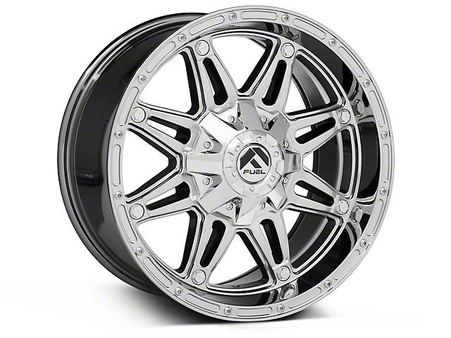 Fuel Wheels Hostage Chrome Wheels (07-18 Wrangler JK)