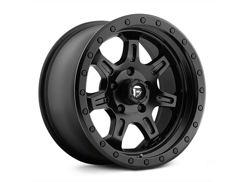 Fuel Wheels JM2 Matte Black Wheels (07-18 Wrangler JK)
