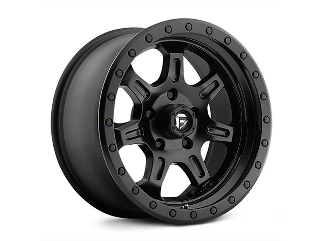 Fuel Wheels JM2 Matte Black Wheels (07-18 Wrangler JK; 2018 Wrangler JL)