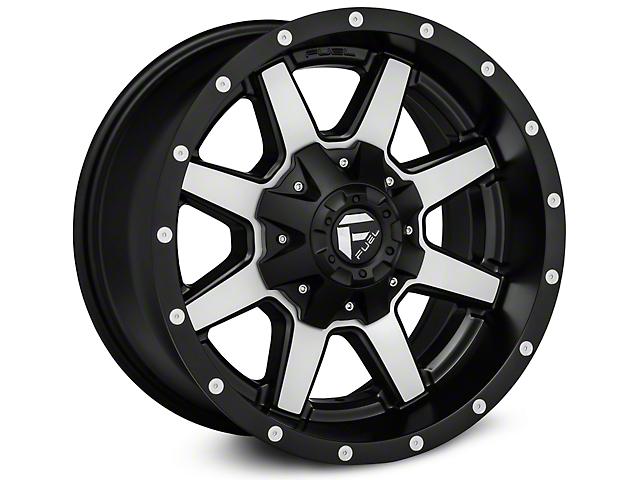 Fuel Wheels Maverick Black with Machined Face Wheels (07-18 Wrangler JK)