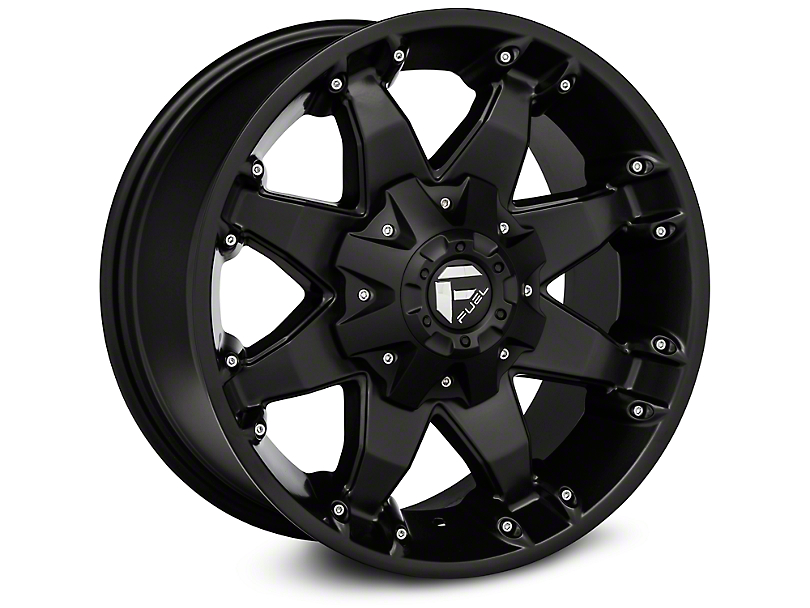 Fuel Wheels Octane Matte Black Wheels (07-18 Wrangler JK)