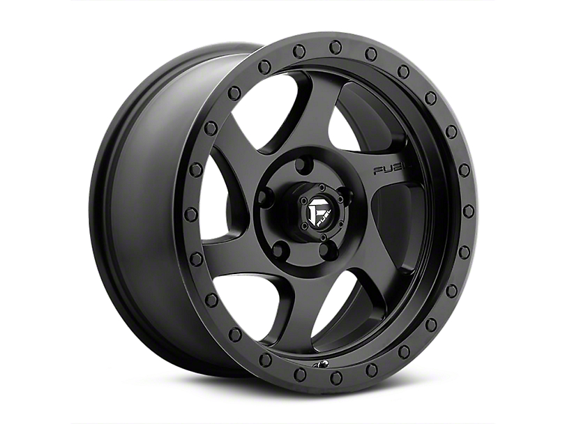 Fuel Wheels Rotor Matte Black Wheels (07-18 Wrangler JK)