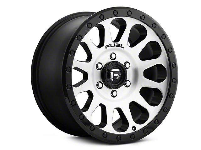 Fuel Wheels Vector Black Machined Wheels (07-18 Wrangler JK)