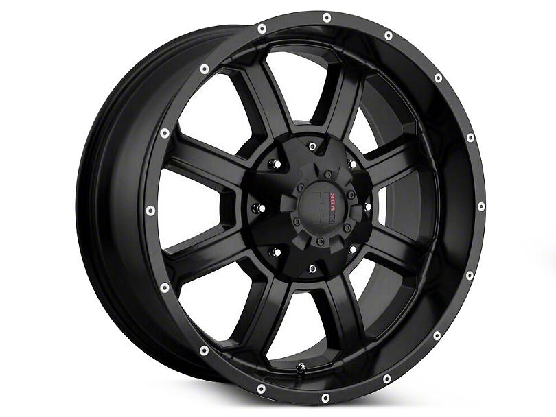 Havok Off-Road H-101 Matte Black Wheels (07-18 Wrangler JK)