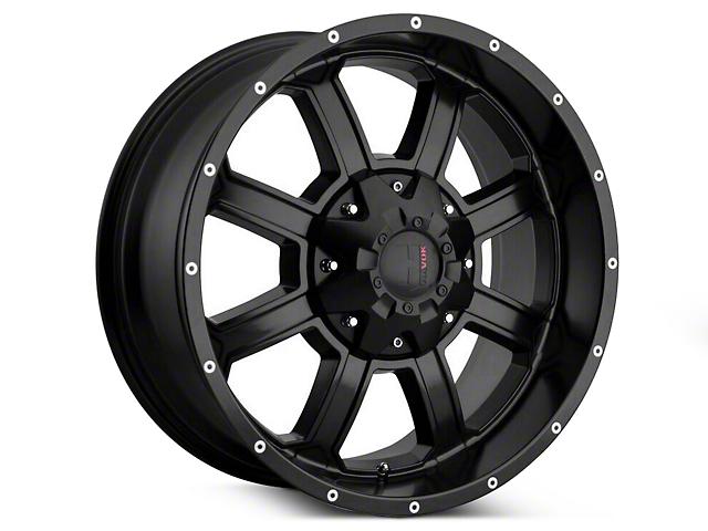 Havok Off-Road H-101 Matte Black Wheels (07-18 Jeep Wrangler JK; 2018 Jeep Wrangler JL)