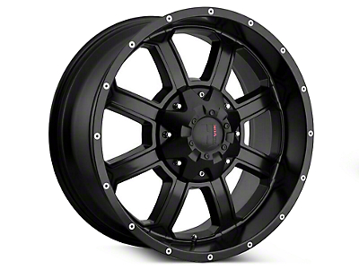 Havok Off-Road H-101 Matte Black Wheels (07-18 Jeep Wrangler JK; 2018 Jeep Wrangler JL)