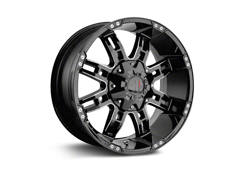 Havok Off-Road H-103 Chrome Wheels (07-18 Wrangler JK)