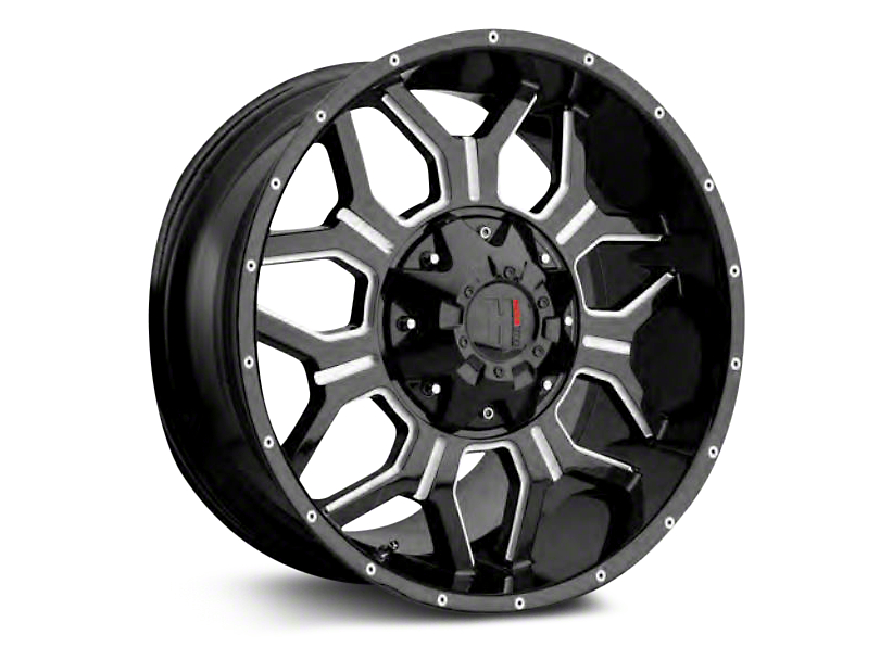 Havok Off-Road H-106 Matte Black Wheels (07-18 Jeep Wrangler JK)