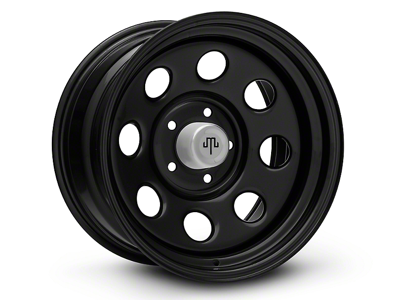 Mammoth 8 Steel Black Wheels (07-18 Wrangler JK)