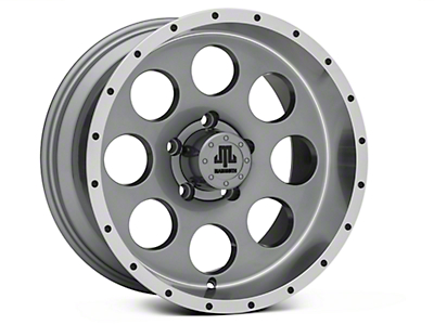 Mammoth 8 Beadlock Style Anthracite Wheels (07-18 Jeep Wrangler JK)