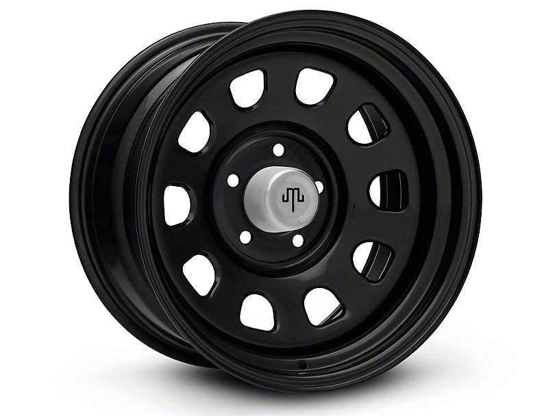 Mammoth D Window Black Wheels (07-18 Wrangler JK)