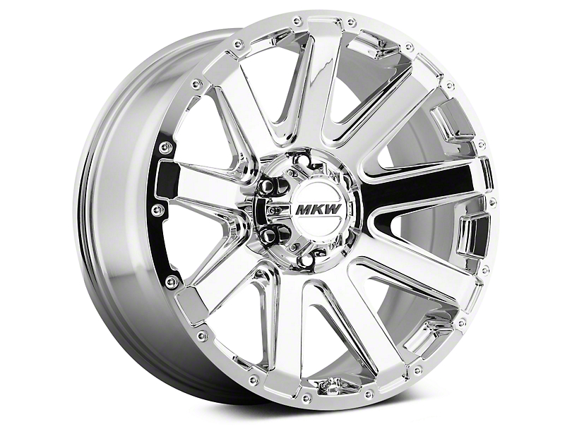 Mammoth MKW Offroad M94 Chrome Wheels (07-18 Wrangler JK)