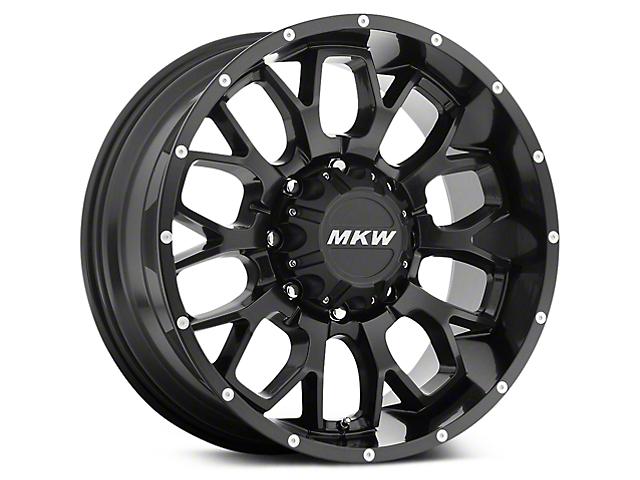MKW Offroad M95 Black Wheels (07-18 Wrangler JK; 2018 Wrangler JL)