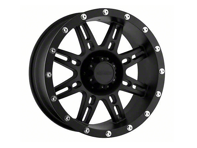 Pro Comp Alloy Series 7031 Black Wheels (07-18 Wrangler JK)