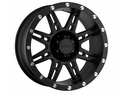Pro Comp Alloy Series 7031 Flat Black Wheels (07-18 Wrangler JK; 2018 Wrangler JL)