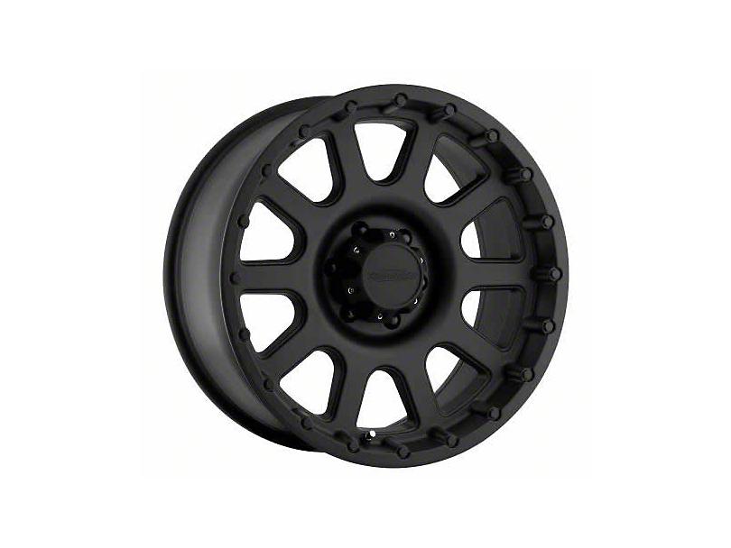 Pro Comp Alloy Series 7032 Flat Black Wheels (07-18 Wrangler JK; 2018 Wrangler JL)
