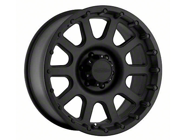 Pro Comp Alloy Series 7032 Flat Black Wheels (07-18 Jeep Wrangler JK; 2018 Jeep Wrangler JL)