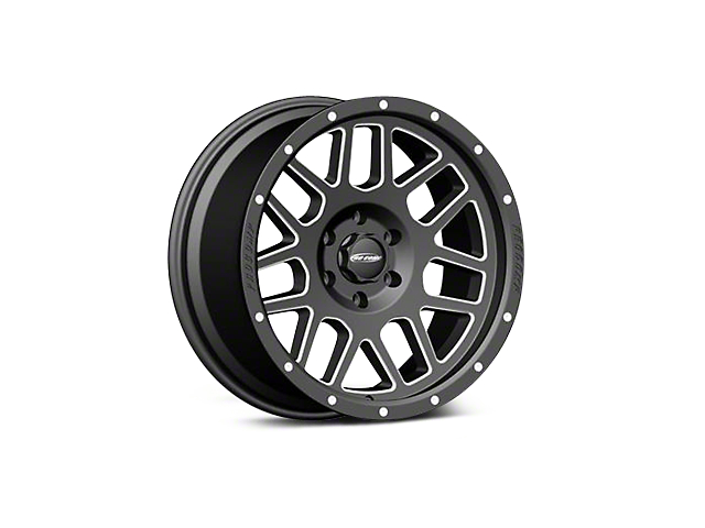 Pro Comp Series 40 Black Machined Wheels (07-18 Wrangler JK)