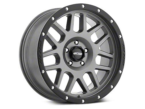 Pro Comp Alloy Series 40 Vertigo Matte Graphite Wheels (07-18 Wrangler JK; 2018 Wrangler JL)